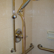 Moen Peended Grab Bar